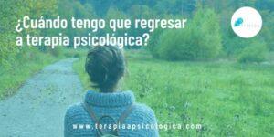 Cuándo tengo que regresar a terapia psicológica -background